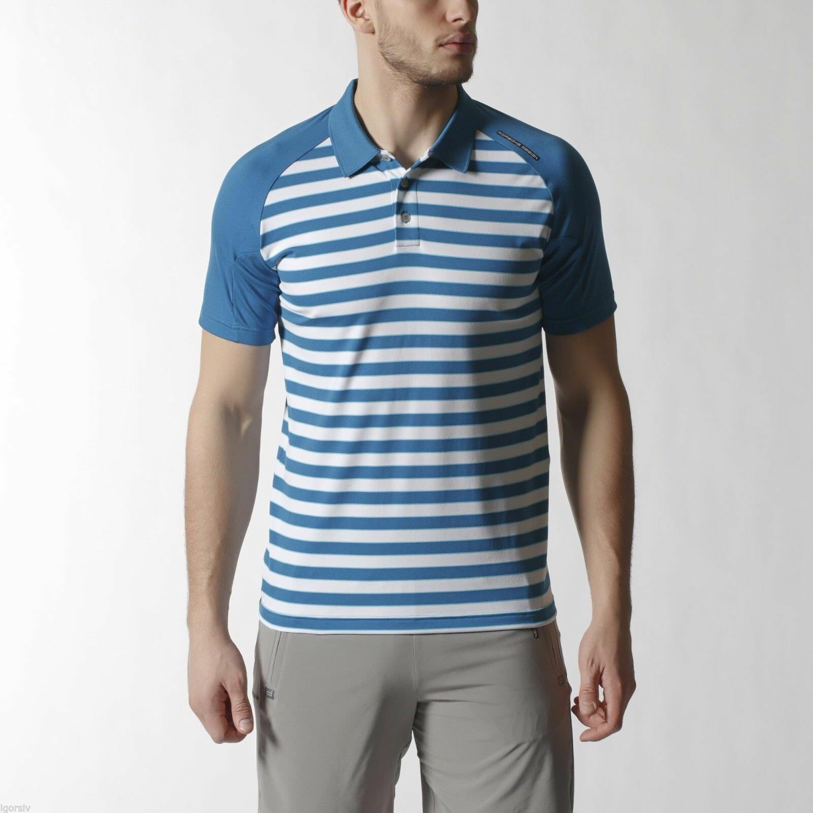 Adidas Porsche Design - STRIPED POLO SHIRT - L XL