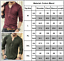 Men-Casual-Shirt-Slim-Fit-T-Shirt-Tee-Long-Sleeve-Muscle-Sport-Gym-Plain-Tops-US thumbnail 5