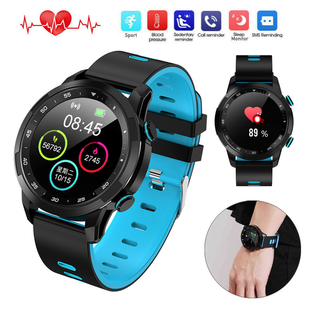 Smart Watch Health Monitor Pedometer Sport Wristwatch for iPhone Samsung Android Featured for health iphone monitor pedometer samsung smart sport watch wristwatch