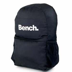 BENCH Polaris Backpack Black 2019003 BENCH Schoolbag