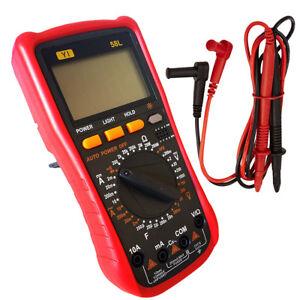 PDR-MULTIMETRO-TESTER-DIGITALE-PROFESSIONALE-VOLT-AMPERE-FARAD-PUNTALI-YI-58L