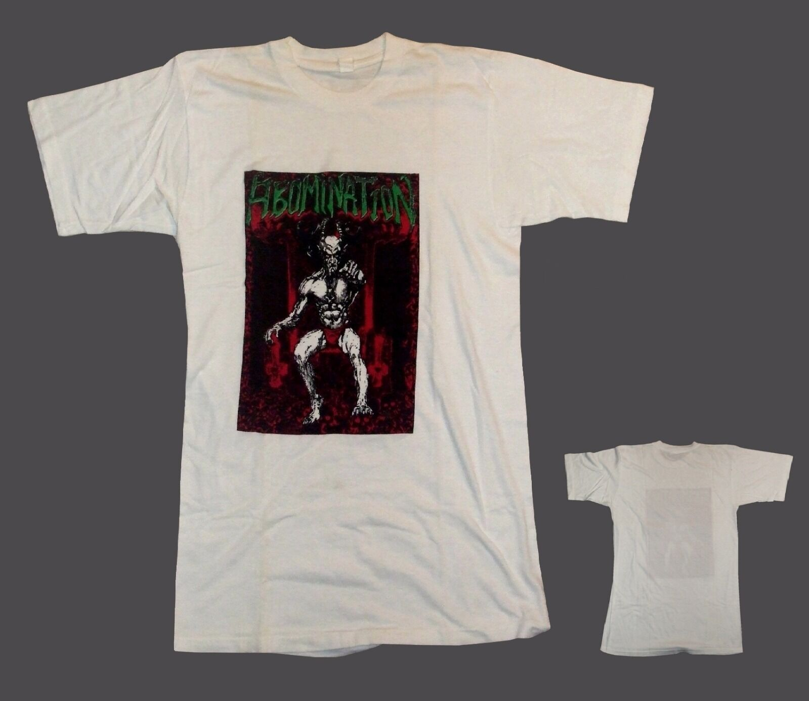 Abomination (Usa) - Demo 1988 T-Shirt Extremely rare.