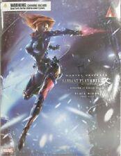 New Square Enix Play Arts Kai MARVEL UNIVERSE VARIANT Black Widow Painted