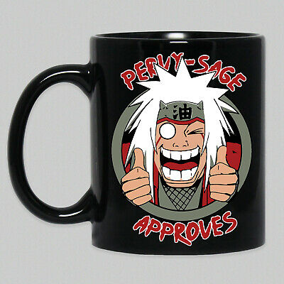 Pervy Sage Approves Jiraiya From Naruto Funny Meme Anime Coffee Mug Tea Cup