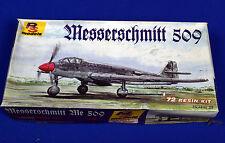 LUFT '46! Messerschmitt 509 Fighter Project - 1:72 Resin Kit by RS Models OOP