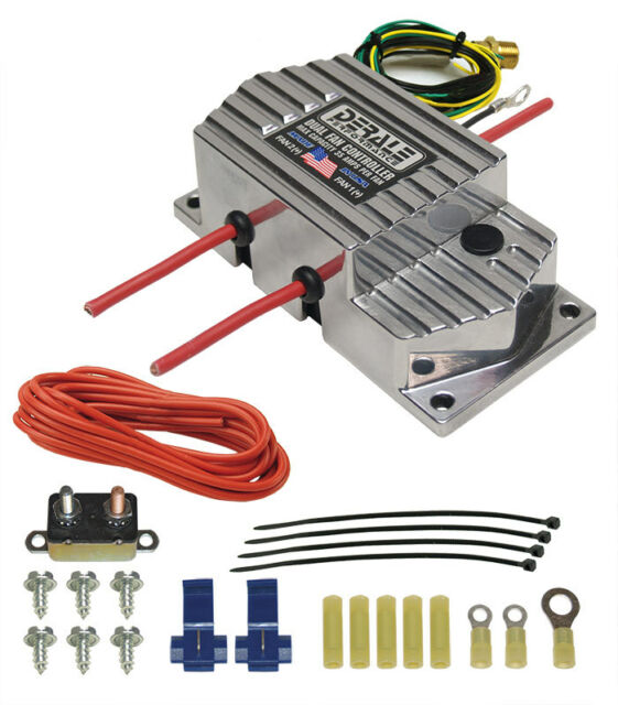 Derale 16789 High Amperage Adjustable Electric Fan Controller