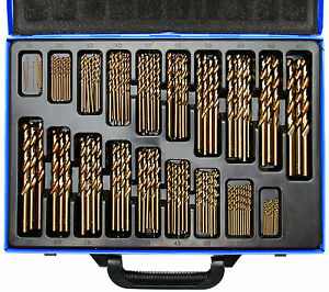 BGS-Germany-170-pcs-Twist-Drill-Bit-Set-HSS-5-Cobalt-Metric-1-10mm-Hard-Steel