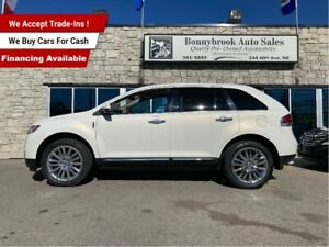 2013 Lincoln MKX AWD leather/sunroof/navigation/backup camera