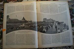 Usa New York Coney Island Manhattan Beach Den Speichel Auffrischen Und Bereichern Nett 1906 Zeitungsblatt 1167 Antiquitäten & Kunst