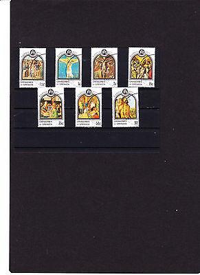 """Ostern 1977 """" Siehe Scan Grenada """" Christliche Jesusgemälde 70 Hoher Standard In QualitäT Und Hygiene"""