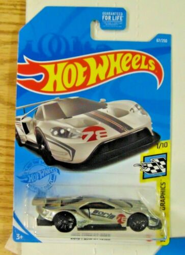 Hot Wheels 2020 67//250  Game Stop Exclusive 2016 Ford Gt Race Silver