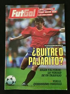 REVISTA-FUTGOL-16-1988-ITALIA-ARGENTINA-ESPANA-ESPANOL-BETIS-REAL-MADRID