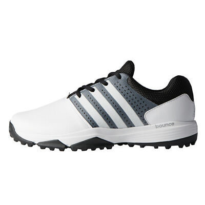 Adidas 360 Traxion Golf Shoes - Feather White/Core Black