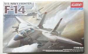 US-Navy-Fighter-F-14-Tomcat-Plastic-1-144-Scale-Academy-Model-Kit