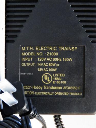 MTH Z-1000 POWER BRICK for TRANSFORMER train power pack o 100 watt 40-1000A NEW