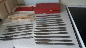 3-X-SETS-VINTAGE-VINERS-EMPIRE-SHAPE-DESIGN-STAINLESS-STEEL-KITCHEN-KNIVES