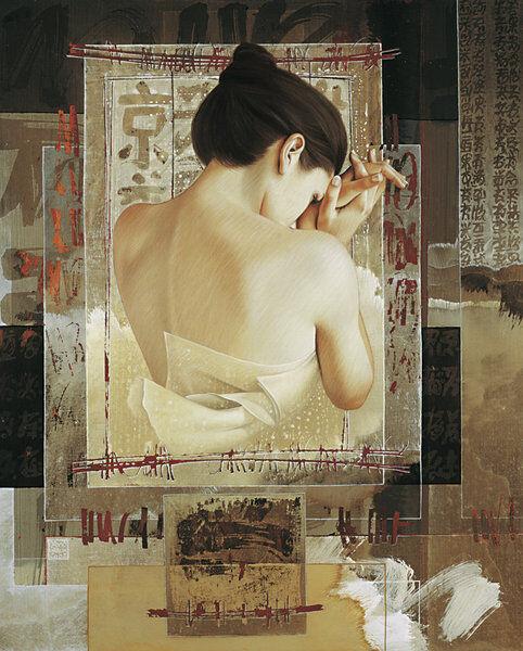 David grisx   Derniers Frimas Tableau Prêt 60x80 Tableau Mural