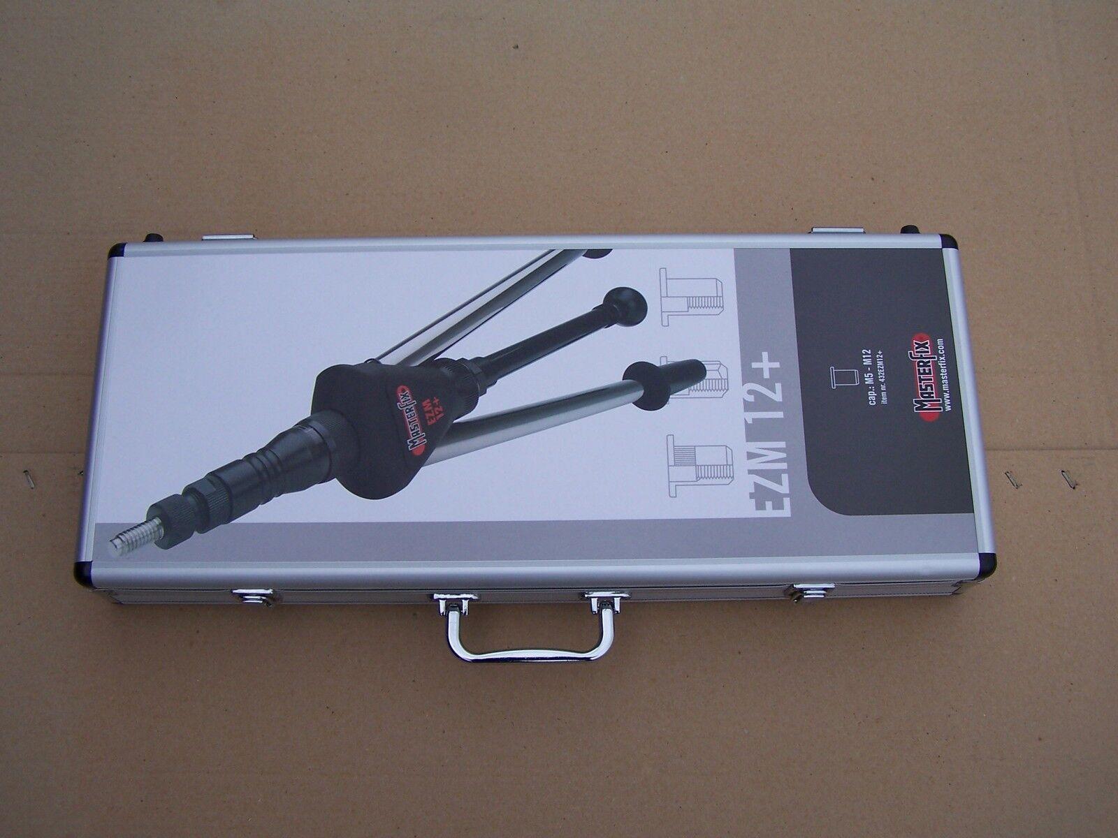 Über 400 Teile Nietmutternzange EZM12+ bis M12 Koffer J | Deutschland Frankfurt  | Neues Produkt  | Vorzüglich  | Schön In Der Farbe