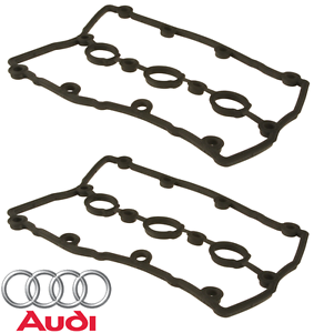 For Audi A4 A6 Quattro 3.0L V6 Pair Set of 2 Valve Cover Gaskets OES 06C103483J