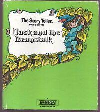 Vintage Children's Book JACK AND THE BEANSTALK Superscope Story Teller