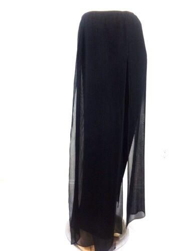 Pantalone Size Leg Palazzo Layered 10 Ribkoff Flare Black Joseph 6wqrv6