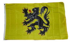 FLANDERS-FLAG-3-X-5-3X5-FEET-POLYESTER-NEW-2-GROMMETS