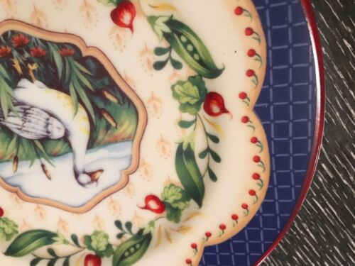 Andrea by Sadek Le Jardin Suzanne Nicoll Duck Salad Plate