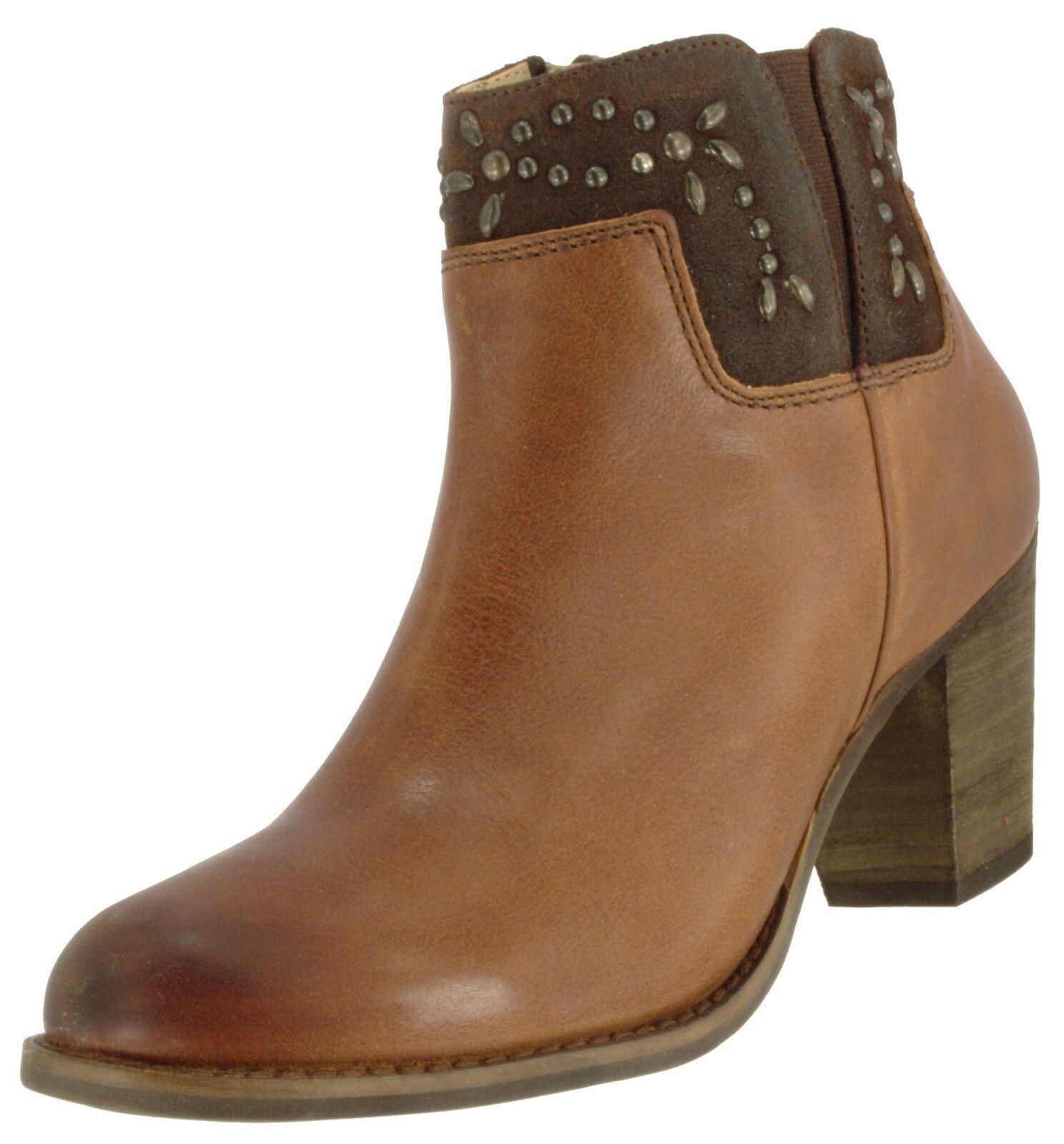 OLUKAI SAMPLE 20331 damen HO'OHILU LEATHER SIDE ZIP ANKLE Stiefel Stiefel Stiefel US 7, EUR 37 ce77f6