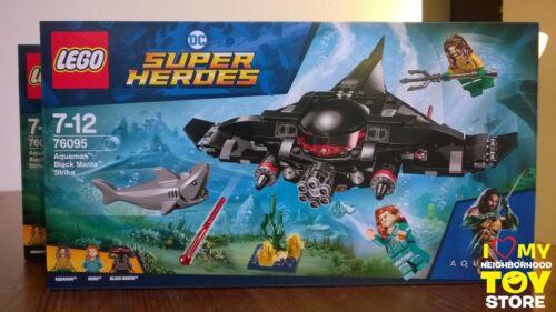 LEGO 76095 SUPER HEROES™ AQUAMAN™: BLACK MANTA™ STRIKE IN STOCK - MISB 2018