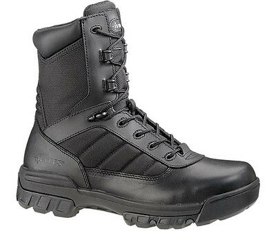"""Bates 8"""" Ultra Lite Tactical Sport Black Side Zip Boots 2261 All Sizes Available"""