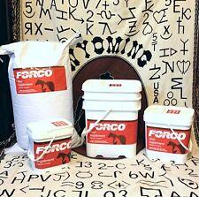 FORCO equine, dog, cat digestive supplement 5lb pail pellet or granular