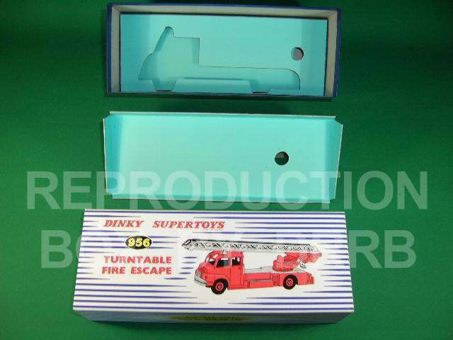Dinky Turntable Fire Escape (Bedford) - Reproduction Box by DRRB