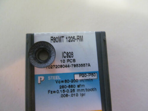 New Iscar R90MT 1205 RM R90MT1205 RM IC928 Buy it Now = 10 inserts Free Shipping