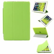 Ensemble Coque arrière + housse protège écran à rabat pour iPad mini 4 ( Vert )