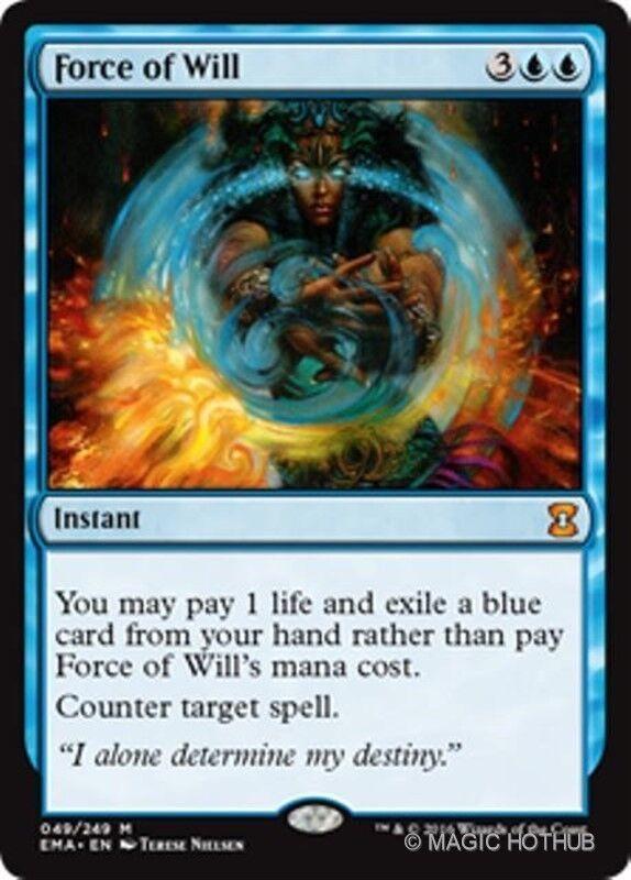 Kraft der ewige meister wird mtg blaue instant - mythischen selten