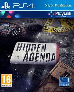 Hidden Agenda PS4 PlayLink