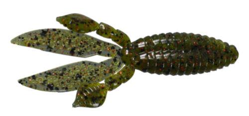 "Strike King Kvd Perfect Plastics Rodent 4/""  6 Pack Bass Fishing Creature Bait"
