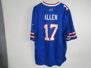 Nike Josh Allen #17 XL Men's Buffalo Bills Blue NFL Players football jersey