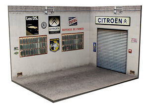 Diorama-presentoir-Garage-Atelier-Citroen-3-faces-1-24eme-24-3-G-H-I-002
