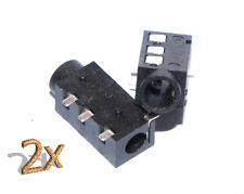 "PJ 3,5"" 4 Pin headphone Phone Jack Connector SMT Audiojack kopfhörerbuchse 2x"