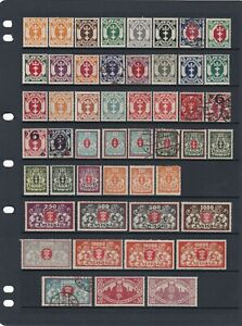 Danzig Stamp Mix Mint & Used & Overprints As Scans (2 Scans)