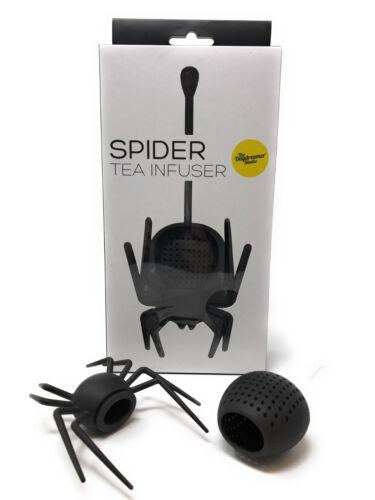 Spinne Lose Blatt Tee-Ei Gruselig Halloween Küchen Zubehör Doppelpack