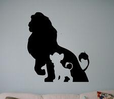 Lion King Vinyl Decal Disney Cartoons Vinyl Stickers Home Interior Kids Room 3