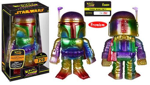 Funko  star wars  prisma  boba fett  premium hikari sofubi vinyl - figur