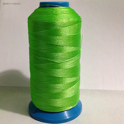 Lime Green Bonded Nylon #92 T90 sewing Thread for canvas outdoor leather
