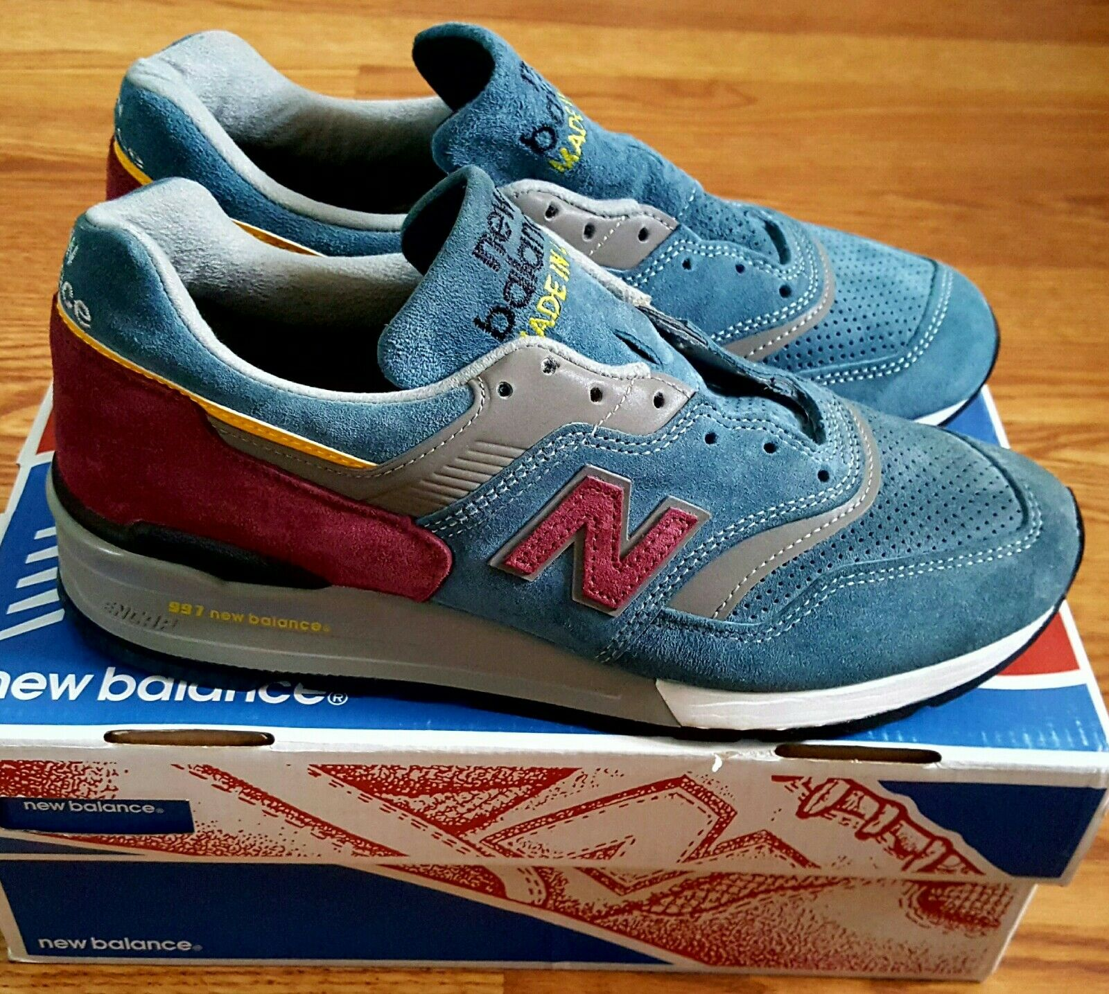 NEW BALANCE 997DTE 'CONNOISSEUR PAINTERS COLLECTION' RUNNING COURSE/ RETAIL 220