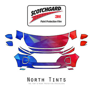 3M Scotchgard Paint Protection Film Pre-Cut Fit 2011 2014 Hyundai Sonata Limited