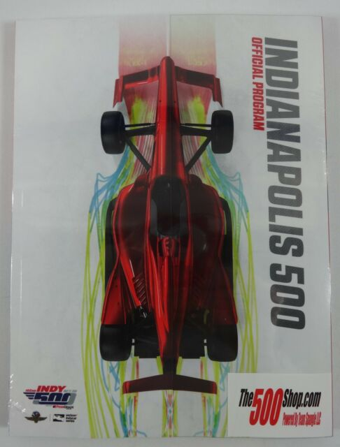 New 2018 Indianapolis 500 102nd Running & INDYCAR Grand Prix Official Program