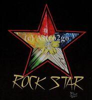 Rock Star-pyrite Tanzanite Geology Gems Stones Minerals Earth Science T Shirt