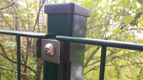 Niet Schraube Auflagebock Befestigung Doppelstabzaun Gitter Klemmplättchen